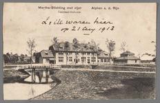 0589 Martha-Stichting met vijer, Alphen a. d. Rijn. Centraal-Gebouw, 1910-1920
