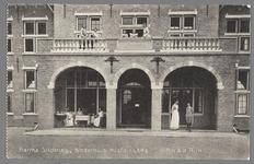 0597 Martha-Stichting, Kinderhuis Hoofdingang. Alfen a.d. Rijn, 1910-1920