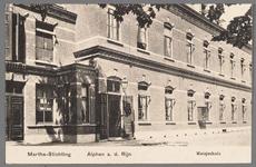0606 Martha-Stichting, Alphen a. d. Rijn, Meisjeshuis, 1910-1920