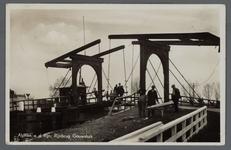 0661 Alphen a. d. Rijn, Rijnbrug Gouwsluis, 1910-1920