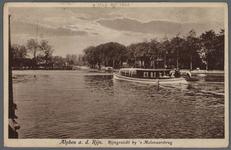 0757 Alphen a. d. Rijn. Rijngezicht by 's Molenaarsbrug, 1910-1920
