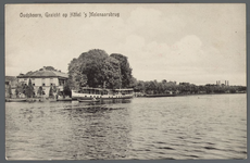 0785 Oudshoorn, Gezicht op H??tel 's Molenaarsbrug, 1910-1920