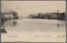 0800 Oudshoorn ; Rijngezicht bij 's Molenaarsbrug, 1905-1915