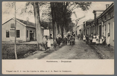 0854 Oudshoorn. - Dorpsstraat, 1895-1905