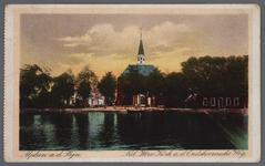0955 Alphen a.d. Rijn. Ned. Herv. Kerk a.d. Oudshoornscheweg, 1900-1910