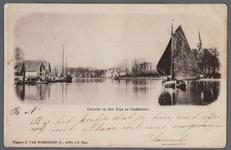 0961 Gezicht op den Rijn te Oudshoorn., 1890-1900