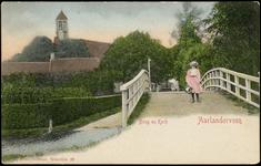 2222 Brug en Kerk Aarlanderveen, 1902