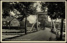 2231 Valbrug met Chr. School. Aarlanderveen, 1924-1932