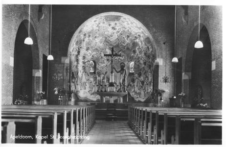 220203 Interieur van de kapel van de St. Joseph Stichting, Apeldoorn