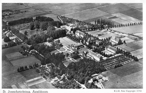 220206 Luchtopname van de St. Joseph Stichting, Apeldoorn