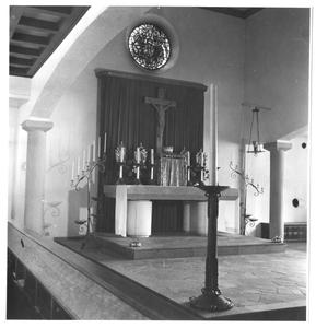 102135 De kapel van het klooster de Stad Gods te Hilversum