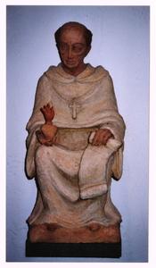102153 Het Augustinusbeeld, vervaardigd door zuster Marie-José