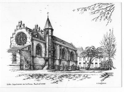 102164 Klooster en kapel van de congregatie te Maastricht