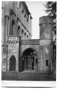 226004 Ingang van klooster Mariënburg te Nijmegen