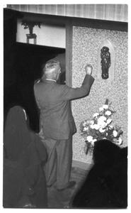 226022 Inwijding van het zusterhuis aan de Canisiussingel te Nijmegen