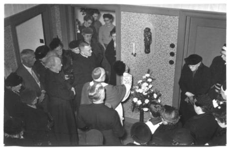 226023 Inwijding van het zusterhuis aan de Canisiussingel te Nijmegen