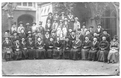 226047 Onderafdeling van de Congregatie van de Heilige Familie bij klooster Mariënburg te Nijmegen