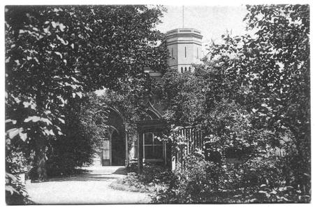 226052 Torentje van de sacristie van pensionaat Sacré Coeur, later klooster Mariënburg te Nijmegen