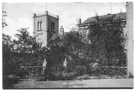 226054 Toren van pensionaat Sacré Coeur, later klooster Mariënburg te Nijmegen