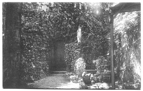 226055 Lourdesgrot bij pensionaat Sacré Coeur, later klooster Mariënburg te Nijmegen