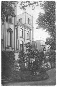 226056 Toren en tuin van pensionaat Sacré Coeur, later klooster Mariënburg te Nijmegen