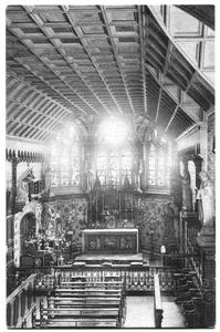 226057 Kapel van pensionaat Sacré Coeur, later klooster Mariënburg te Nijmegen