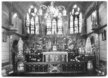 226059 Kapel van klooster Mariënburg te Nijmegen