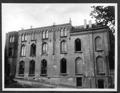 226071 Gevel van klooster Mariënburg aan de Duivengas te Nijmegen