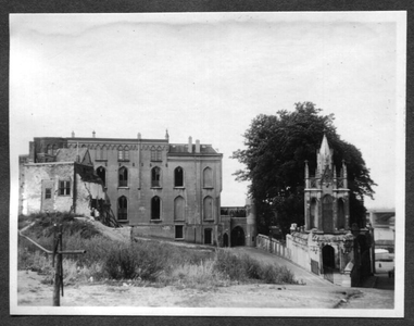 226072 Gevel van klooster Mariënburg aan de Duivengas te Nijmegen