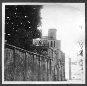 226074 Gevel van klooster Mariënburg aan de Lindenberg te Nijmegen