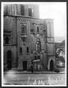 226076 Gevel van klooster Mariënburg aan de Lindenberg te Nijmegen