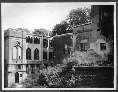 226077 Achterzijde van klooster Mariënburg te Nijmegen