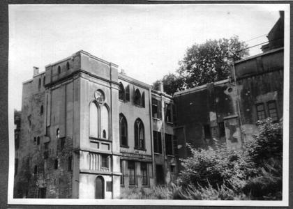 226078 Achterzijde van klooster Mariënburg te Nijmegen