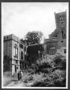 226079 Achterzijde van klooster Mariënburg te Nijmegen