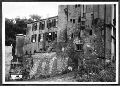 226080 Achterzijde van klooster Mariënburg te Nijmegen