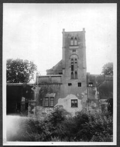 226081 Achterzijde van klooster Mariënburg te Nijmegen