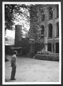 226084 Gevel van het hoofdgebouw van klooster Mariënburg te Nijmegen
