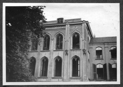 226087 Gevel van het hoofdgebouw van klooster Mariënburg te Nijmegen