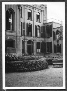 226088 Gevel van het hoofdgebouw van klooster Mariënburg te Nijmegen