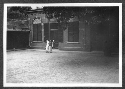 226093 Tweede kloostertuin van Mariënburg te Nijmegen