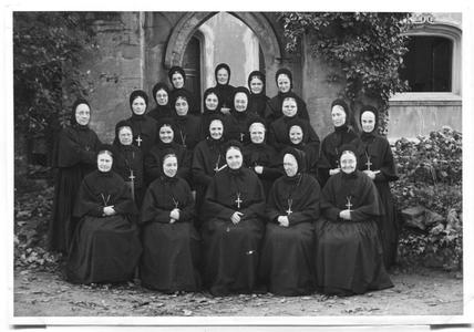 226105 De zusters van klooster Mariënburg te Nijmegen