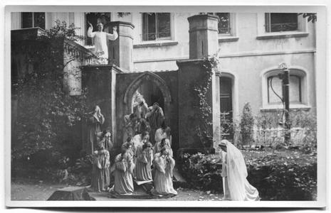 226107 Mariaspel bij de inwijding van de kapel van O.L.V. van het Vagevuur te Nijmegen