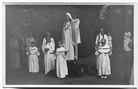 226111 Mariaspel bij de inwijding van de kapel van O.L.V. van het Vagevuur te Nijmegen