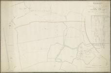 477_004_012 Kaart van de eigendommen van den heer Lubertus Buijs gelegen onder de gemeenten Geervliet, Rockanje, ...