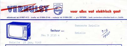 AB_VERHULST_003 Abbenbroek, Verhulst - Alle installatiewerken, Elektrische apparatuur, w.o. Radiotoestellen, ...