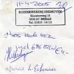 BR_ENDHOVEN_001 Brielle, Endhoven - Rozenkwekerij Endhoven, (2005)