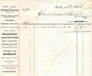 BR_POSTHUMUS_001 Brielle, Posthumus - Boek-, papier- en photographiehandel. Hollandache Fransche Engelsche en Duitsche ...