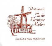 BR_BERNISSE_001 Geervliet, Bernisse Molen - Restaurant In de Bernisse Molen Geervliet (ENVELOPPE)