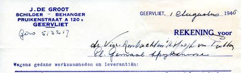 GE_GROOT_001 Geervliet, De Groot - J. de Groot, Schilder - behanger, (1948)