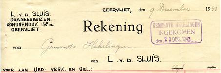GE_SLUIS_002 Geervliet, v.d. Sluis - L. v.d. Sluis, Draineerbuizen, (1943)